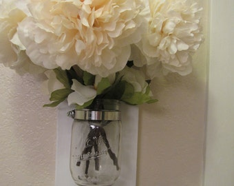 Hanging mason jar vase Perfect for home decor and so much more!