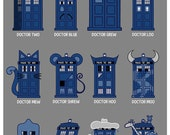 Doctor Who: Alternative Practitioners - A3 Print