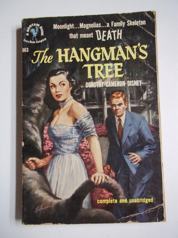 The Hangman's Tree by Dorothy Cameron Disney Bantam #863 1951 Vintage Mystery Paperback Book