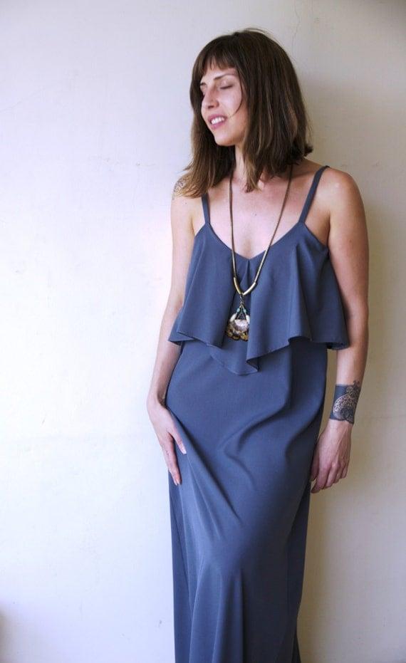 Lastest  Womens  Clothing  Dresses  Religion  Tumble Dress  Dark Grey