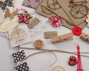 DIY Gift Wrap Kit - A Little Bit of Paris