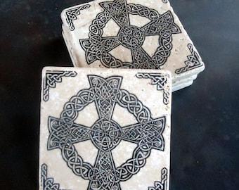 Celtic Knot Tile Coasters