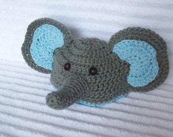 Baby Elephant hat, newborn elephant beanie, crochet elephant hat, newborn elephant hat, crochet elephant beanie, baby boy hat, photo prop