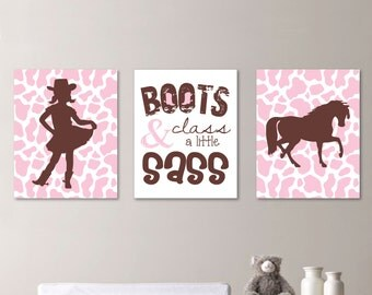 cowgirl decor etsy