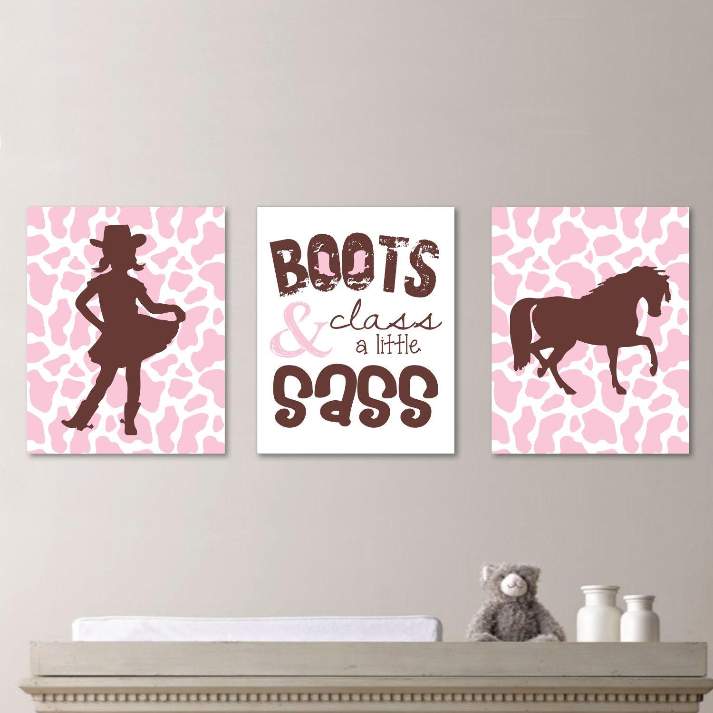 baby girl nursery art cowgirl nursery art cowgirl bedroom