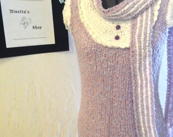 The Purple CapSleeve BabyDoll Dress