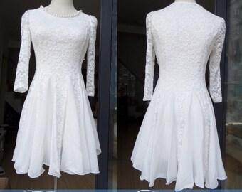 white dress spring dress autumn dress party dress women clothing Date dress Cute dress women dress lace dress