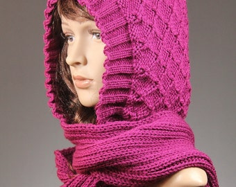 88a41ee154a Free Crochet Pattern For Hat With Attached Scarf Dancox