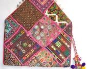 banjara bag/vintage bag/tribal bag/antique bag/boho bag/stunning bag/ethnic bag/gypsy bag/clutch bag/crossbody bag