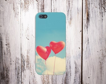 Heart Balloons Case for iPhone 6 6 Plus iPhone 7  Samsung Galaxy s8 edge s6 and Note 5  S8 Plus Phone Case, Google Pixel