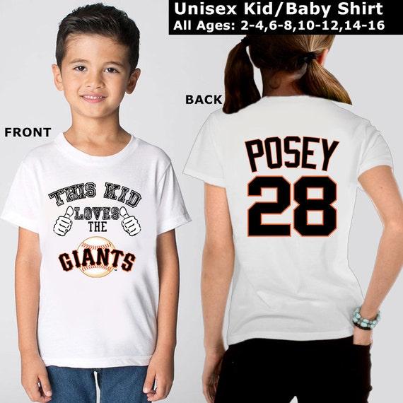 San Francisco Giants kids San Francisco Giants by