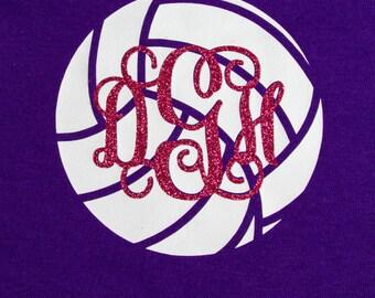 Monogram Volleyball Heat Set T-shirt