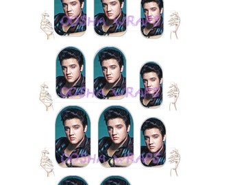 Elvis Nail Wraps
