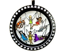 Tinkerbell Floating Charms