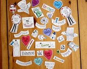 Kleinemaus loves... // Sticker pack