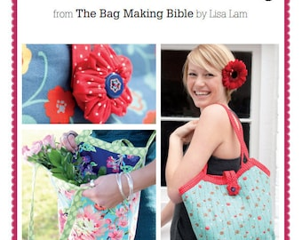 Reversible Bucket Bag Sewing Pattern Download