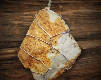 Natural Rock Necklace