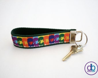 The Beatles Inspired Key Fob