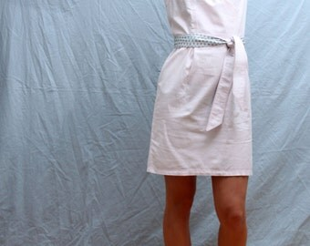 Organic cotton summerdress in pink colour