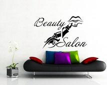 Barber Shop Aurora Il : Beauty Hair Salon Barbershop Fashio n Girl Woman Eye Lips Haircut Wall ...
