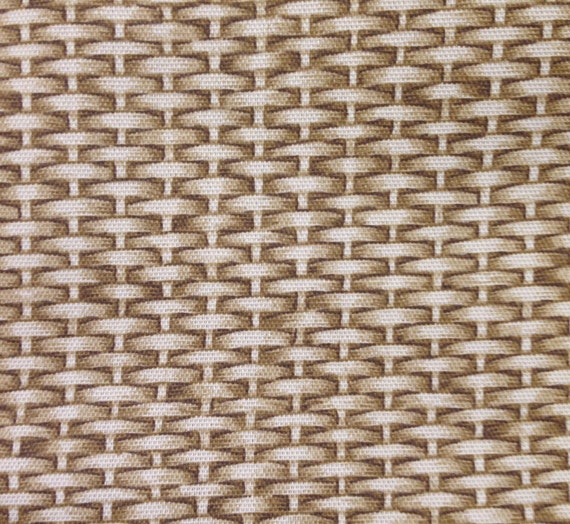 How To Weave A Basket From Fabric : Basket weave outdoor fabric by myfabrics