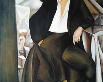 Copia d'autore Lempicka