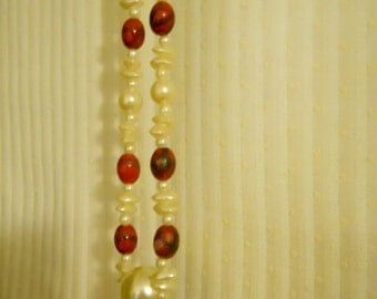 Faux Pearl and Bead Necklace Coupon Code