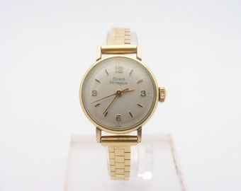 1950's Ladies Girard Perregaux Wrist Watch. 14K Yellow Gold