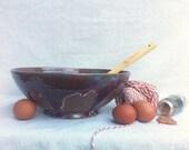 "The ""Gingerbread"" mixing bowl- Treasury Item"
