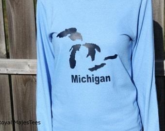 Great Lakes Michigan Shirt