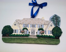 Custom House Ornament/ Delivery for Christmas 2016