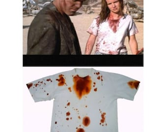 Bloody T-shirts from movies