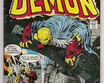 The Demon 2 VGFN Jack Kirby Story and Art DC Bronze Age Comics Book Oct 1972
