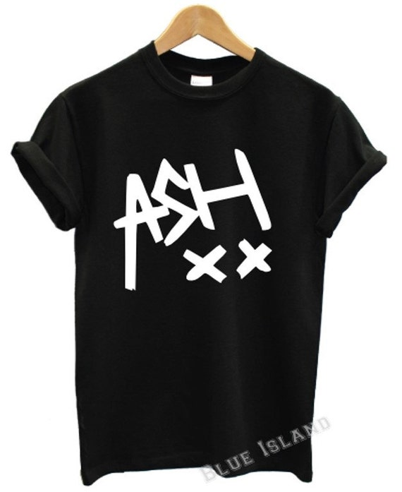 Ashton irwin ash xx 5 seconds of summer t shirt 5 sos music tour swag dope luke hemmings ashton irwin unisex all colours Unisex swag dope 1d