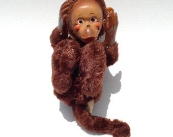 Vintage Monkey Doll Made in Japan