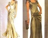 vogue designer original pattern 1015 ~ bellville sassoon gown ~ (2007) ~ UNCUT