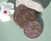 Copper Snowflake Blank 30mm 20g Cutout for Enameling Metalworking Blanks