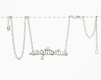 Sagittarius Necklace - Astrology Jewelry