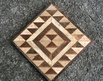 Reclaimed Wood Wall Hanging - Free Shipping