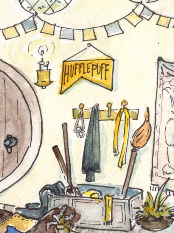 Harry potter fan art where they are just and - The five star student dormitories boutique style spoil ...