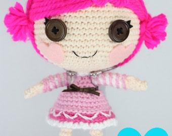 PATTERN: Little Toffee Crochet Amigurumi Doll