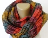 Women Chunky Knit Infinity Scarf Knit Scarf Winter Accessories Men Scarf Winter Scarves / Valentines Day Gifts /Gifts For Her /senoaccessory