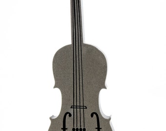Violin Foam Stamp