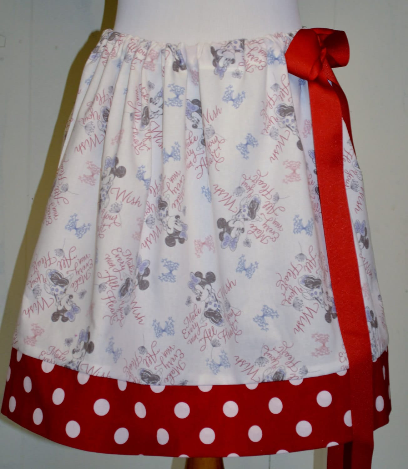 minnie mouse skirt womens or tween skirt ready to