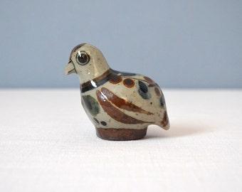 Vintage Wilmot Tonala Bird Rattle Figurine