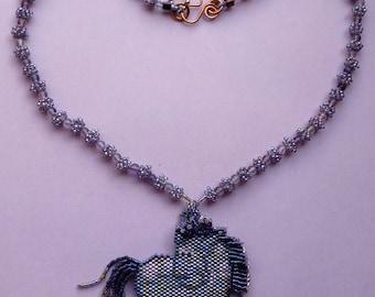 "Necklace ""Spirited pony"""