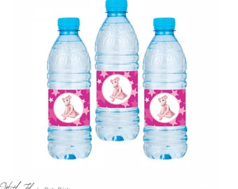 Angelina Ballerina Water Bottle Labels