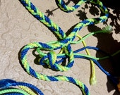 "The ""Marry Me Marine"" Braided and BUOYANT! Handfasting Cord for Wedding Ceremony"