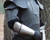 ARM PROTECTIONS - Steel Armor Bracers Elf - Pair