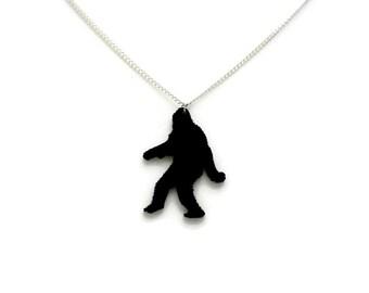 Bigfoot, Sasquatch, Yeti,  necklace.